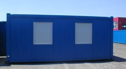 Блок контейнер с окнами