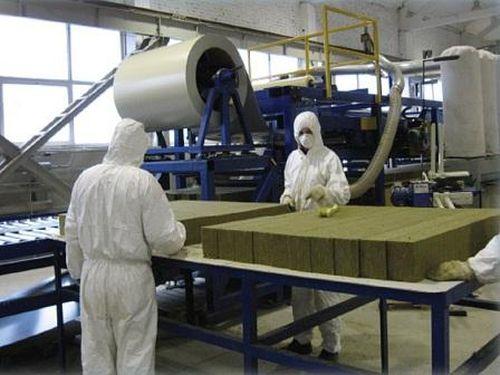 Производство панелей с минватой